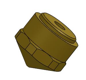 Felix 3D-Printer Hot-end Tip 1.75mm F3.0 v1