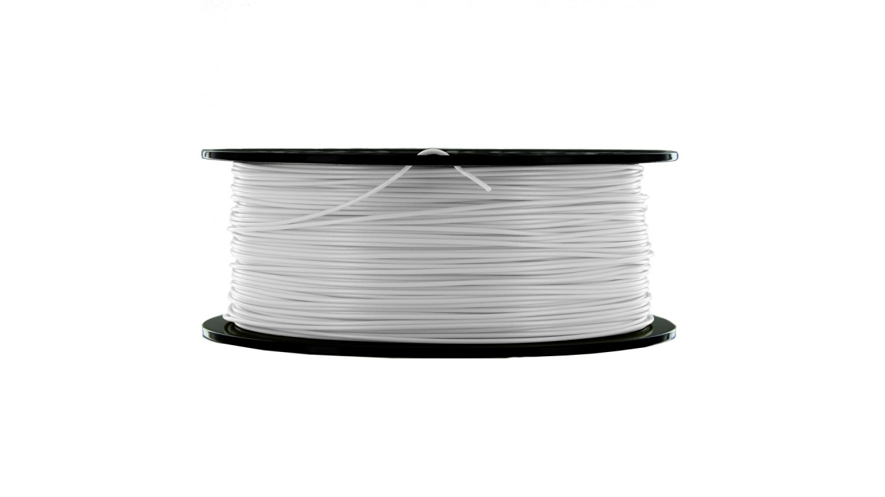 MakerBot - ABS - White - 1,75 mm - Spool - 1 kg (3DP-filament)