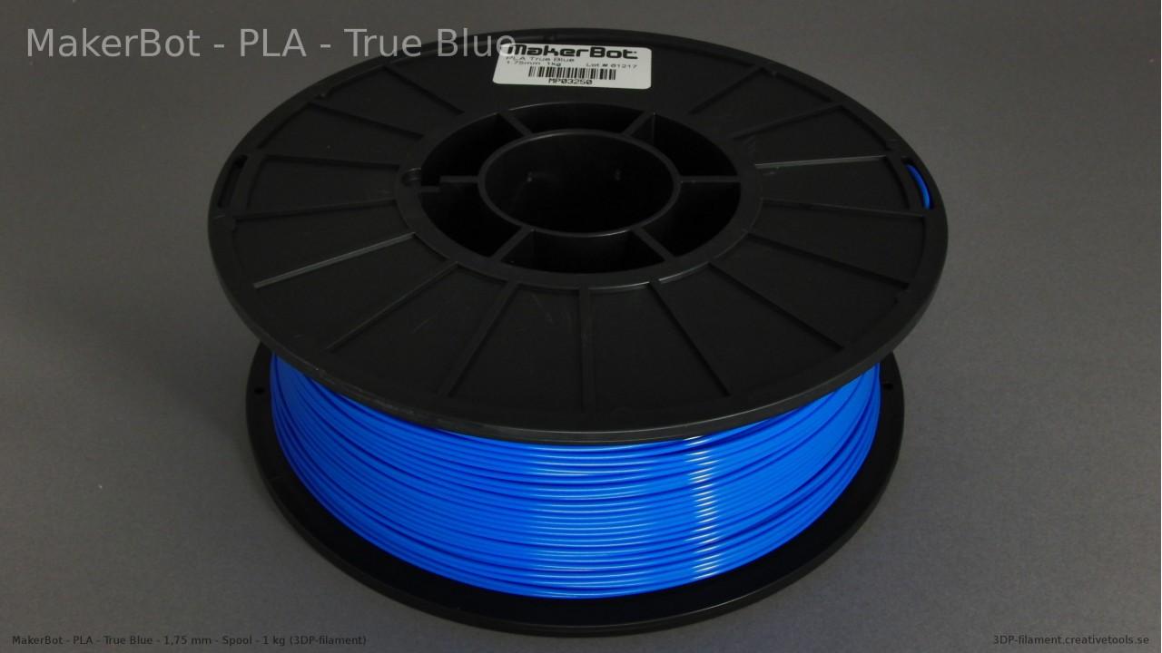 MakerBot - PLA - Blue - 1,75 mm - Spool - 1 kg (3DP-filament)