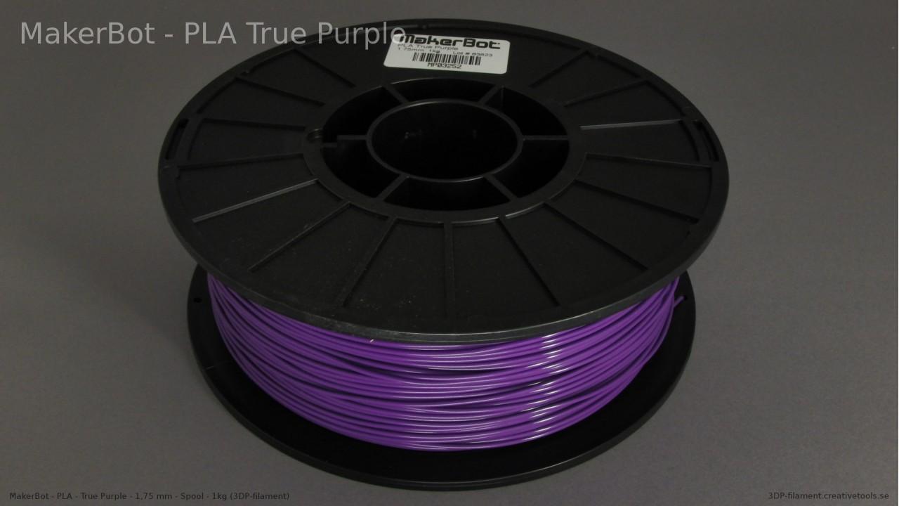 MakerBot - PLA - Purple - 1,75 mm - Spool - 1 kg (3DP-filament)