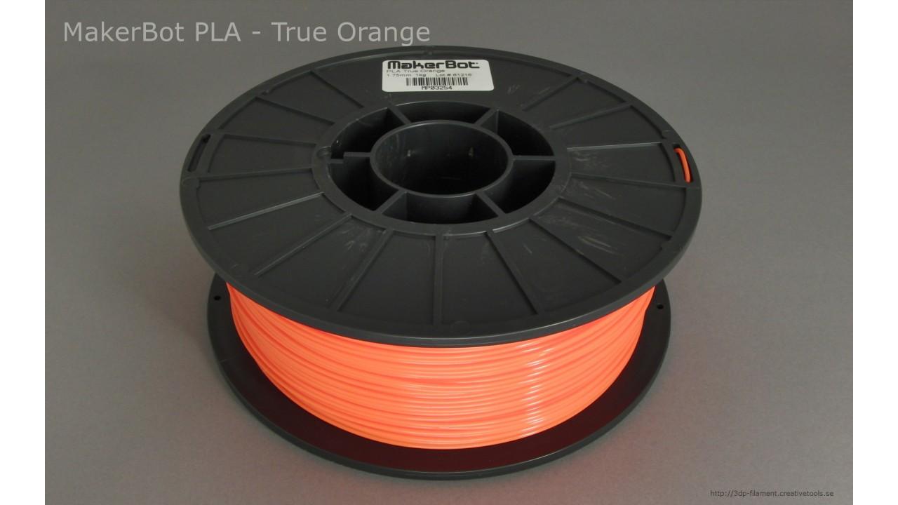 MakerBot - PLA - Orange - 1,75 mm - Spool - 1 kg (3DP-filament)