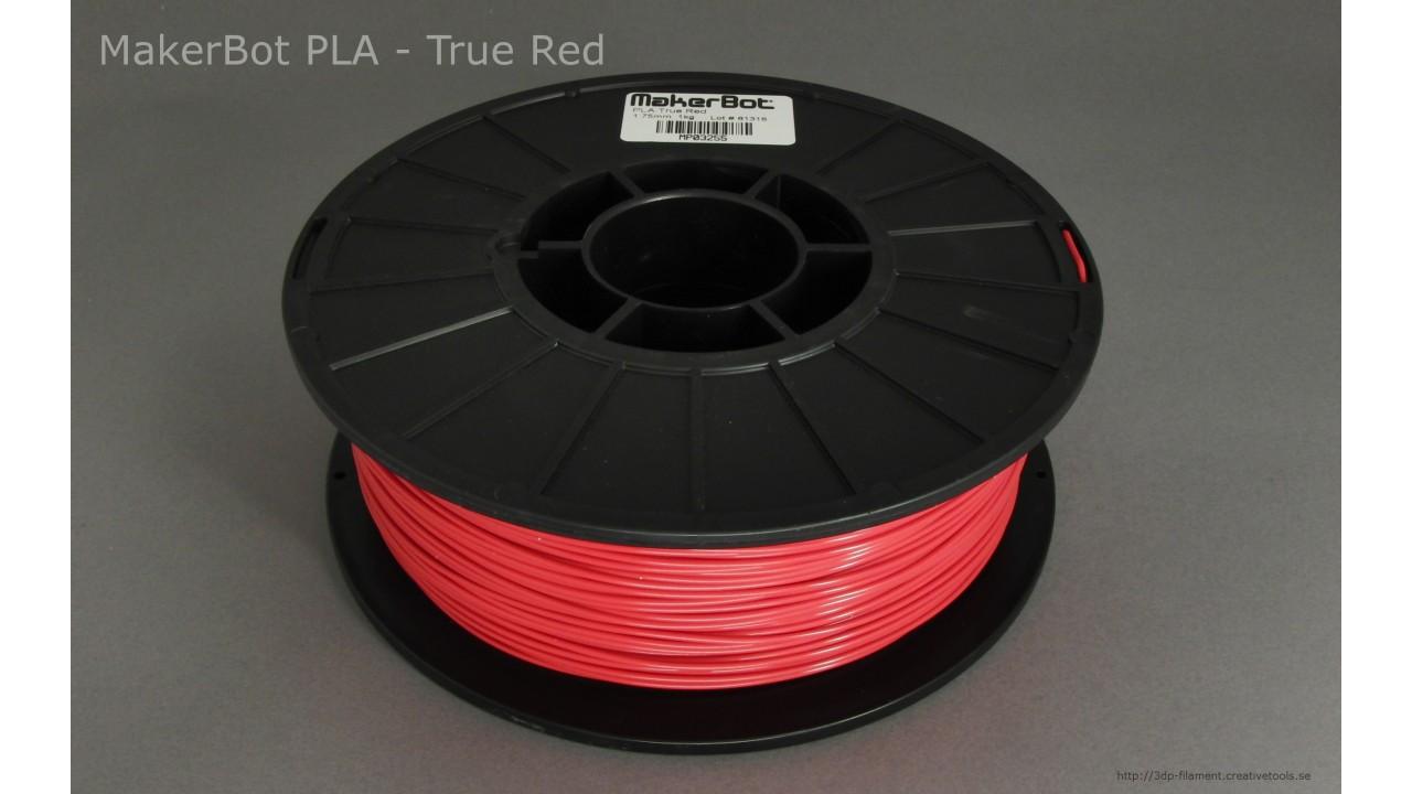 MakerBot - PLA - Red - 1,75 mm - Spool - 1 kg (3DP-filament)