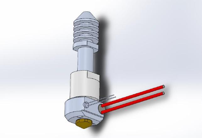 Felix 3D-Printer Hot End V4 Assembled